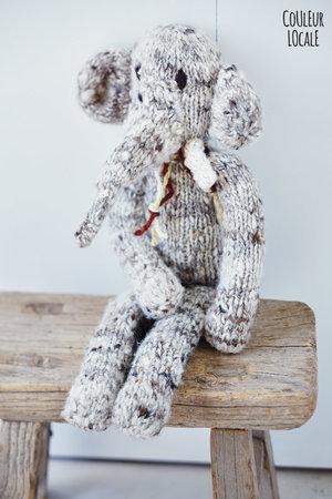 Kenana Knitters Woolen elephant