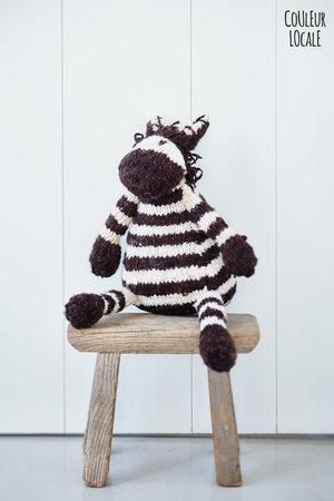 Kenana Knitters Woolen zebra