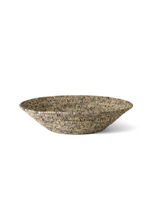 Heathered black & white jumbo bowl