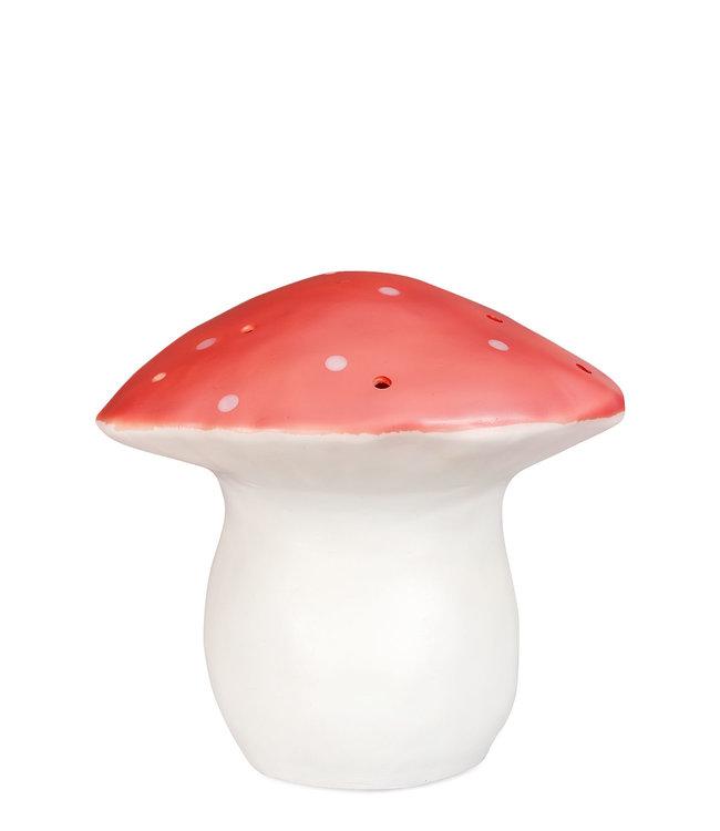 Heico Paddenstoel lamp rood - L