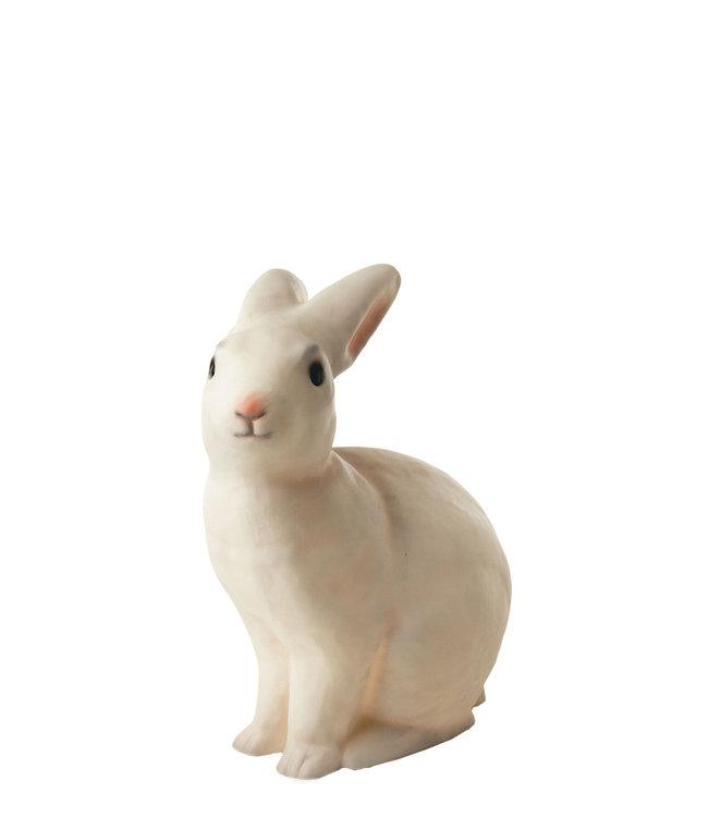 Rabbit lamp white