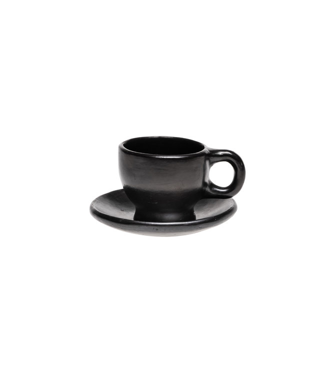 Coffee cup and plate
