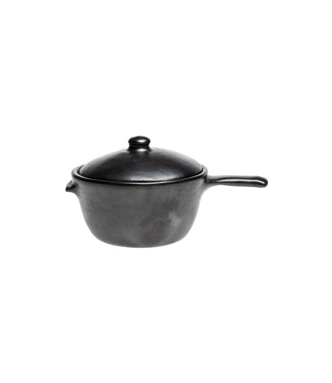 Cookingpan with handle and lid