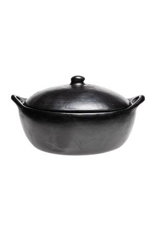 Ovale braadpan met deksel