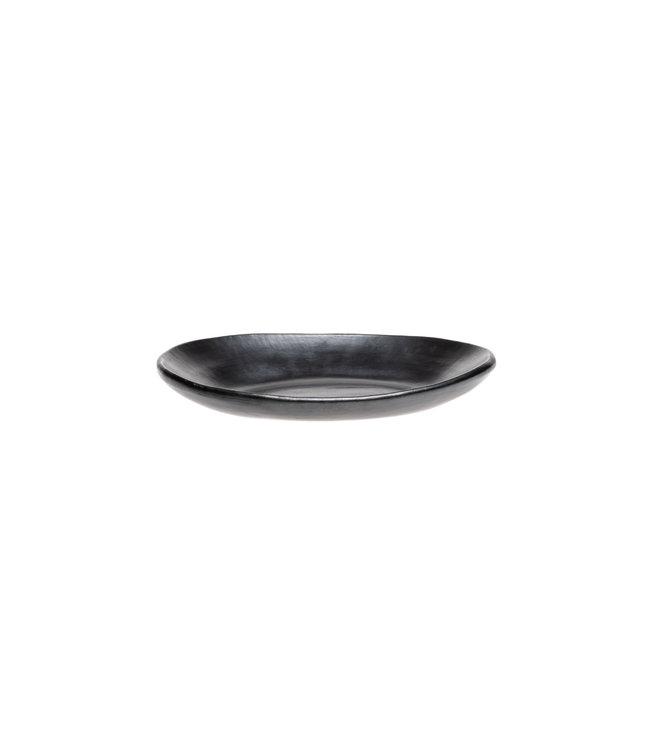 Ondiepe ovale serveerschaal
