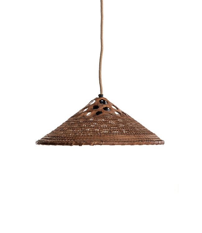 Hanglamp oud Chinees rijsthoedje