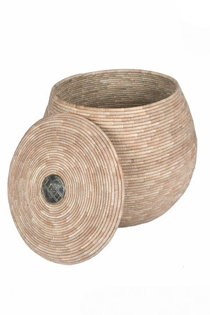 Tahoua Import Mand met deksel - Niger