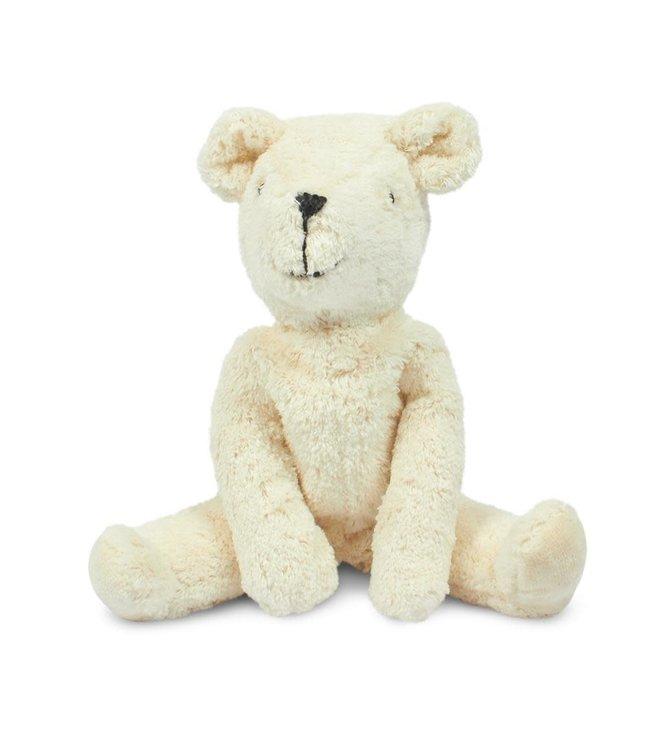Floppy animal bear - white