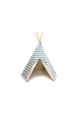 Nobodinoz Arizona teepee - blue scales
