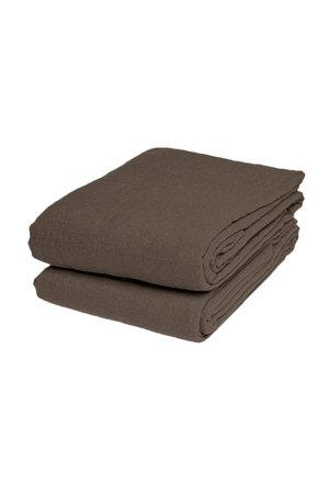 Linge Particulier Flat sheet linen - mouseback