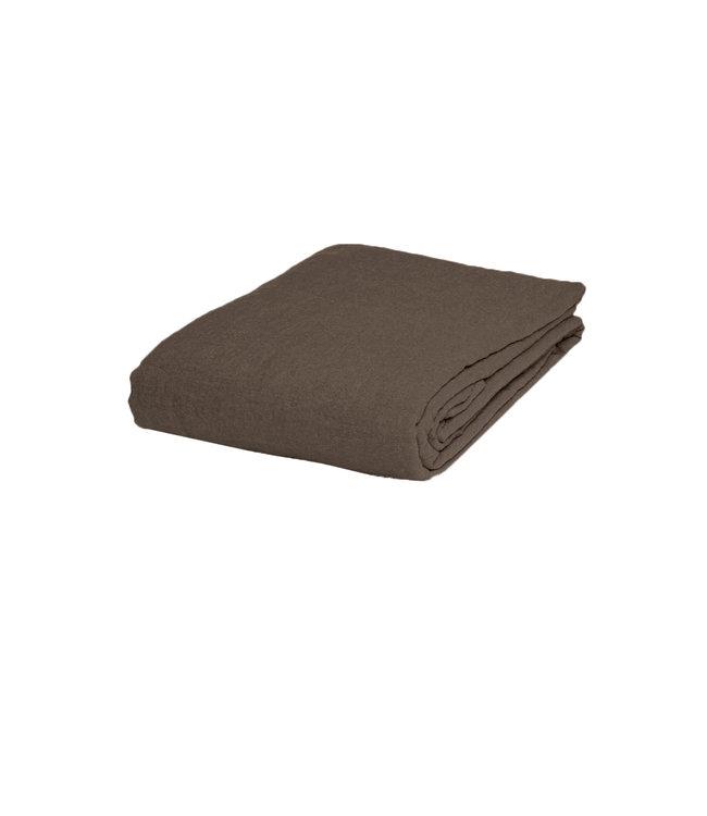 Linge Particulier Hoeslaken linnen - mouseback
