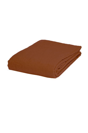 Linge Particulier Fitted sheet linen - sienna