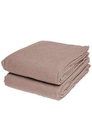 Linge Particulier Flat sheet linen - nude