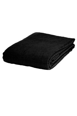 Linge Particulier Tablecloth linen - black
