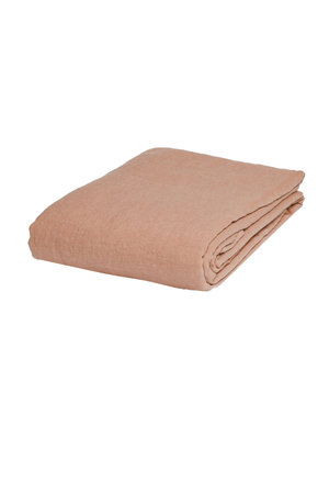 Linge Particulier Tablecloth linen - copper