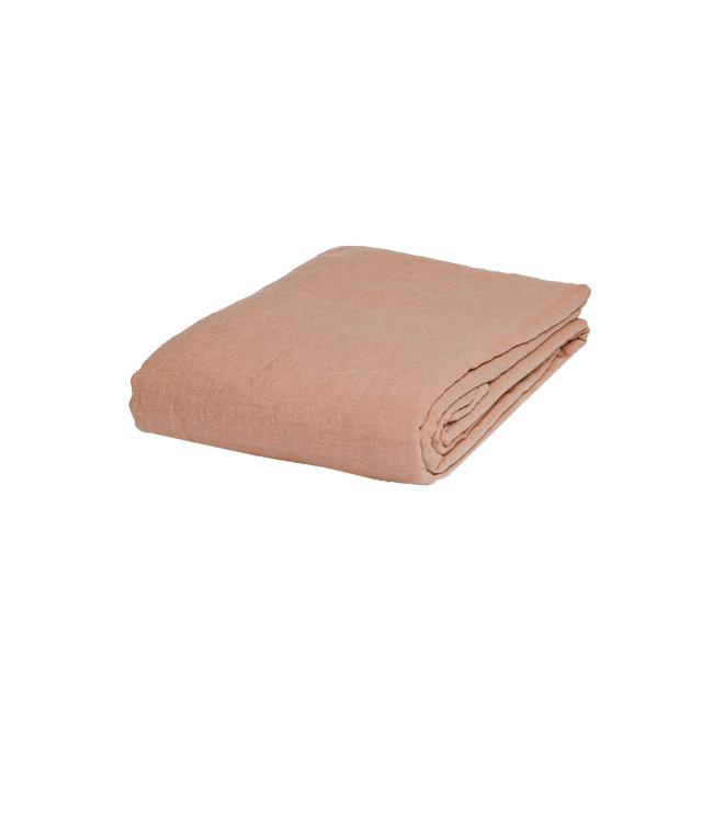 Linge Particulier Tafelkleed linnen - copper