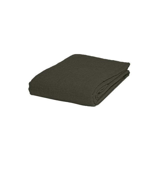 Linge Particulier Tablecloth linen - kaki