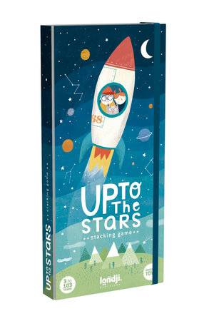 Londji Wooden stacking toy - Up to the stars