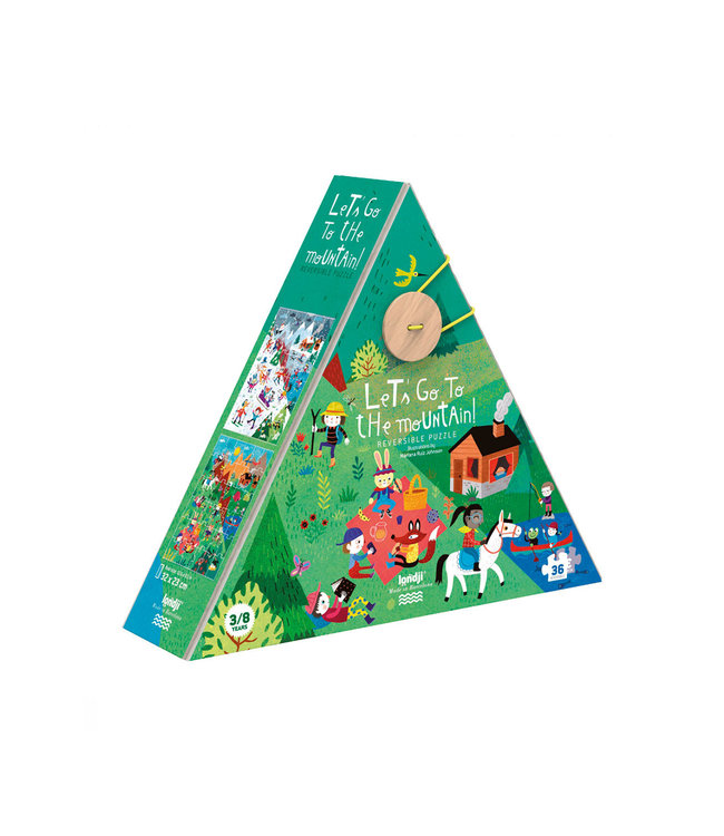 Puzzel 'Let's go to the mountain'