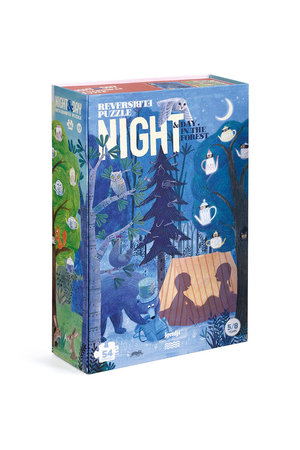 Londji Puzzle  'Night & day in the forest'