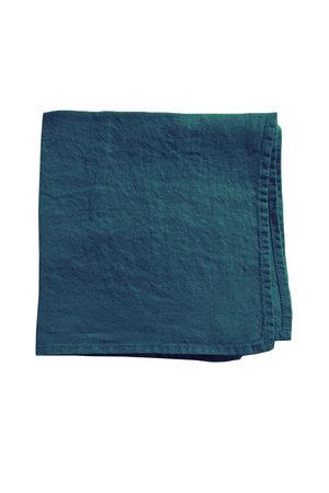 Linge Particulier Napkin linen - duck blue