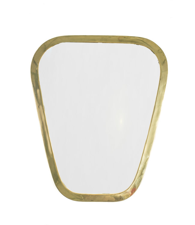 Couleur Locale Mirror brass - gold - irregular - M
