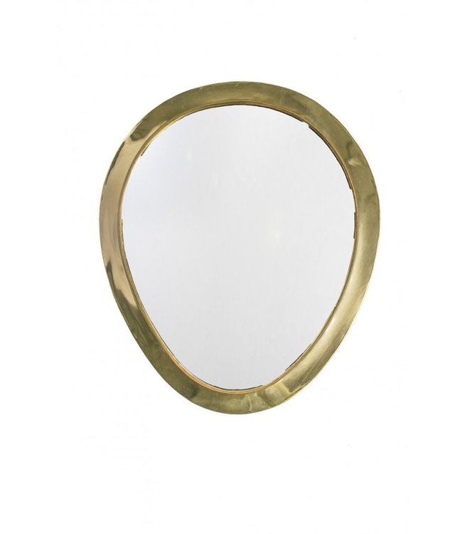 Couleur Locale Mirror brass - gold - oval - S