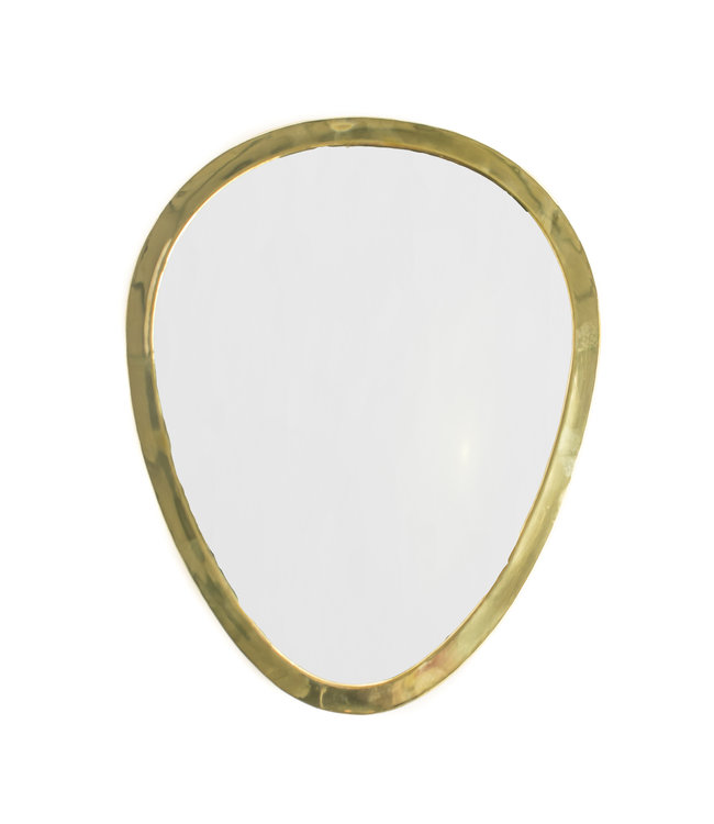 Couleur Locale Mirror brass - gold - oval - M
