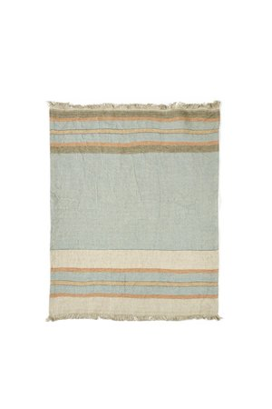 Libeco The Belgian towel - small fouta - multi stripe