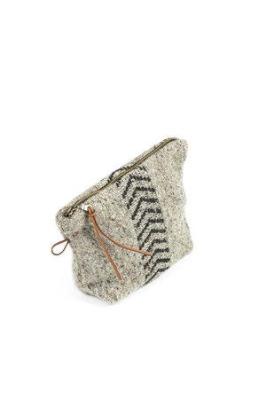 Libeco Jules mini etui - black herringbone
