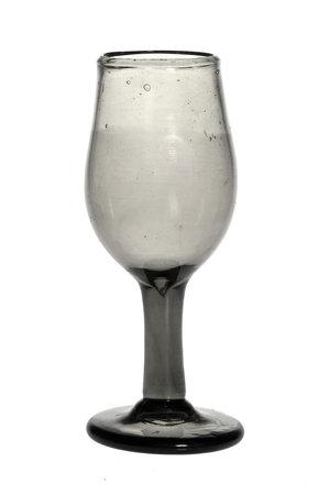 Mondgeblazen wijnglas - transparant