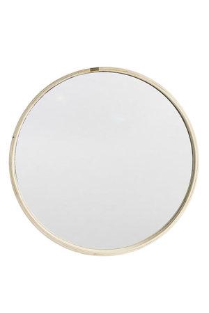 Couleur Locale Ronde houten spiegel