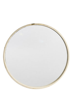 Couleur Locale Round wooden mirror