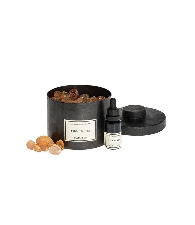 Pot Pourri vegetal amber - Figue Noir - small
