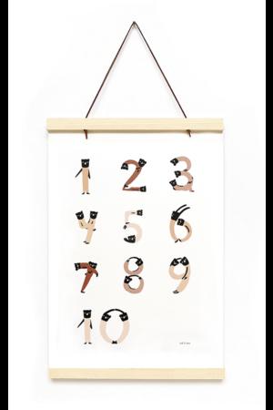Acrobats 1,2,3 print & frame