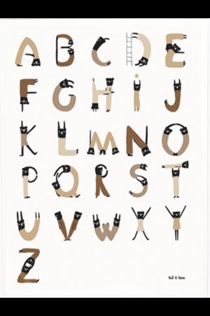 ABC acrobats poster