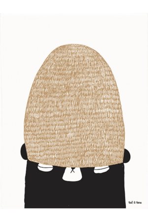 Ted & Tone 'Join my winterhat' poster