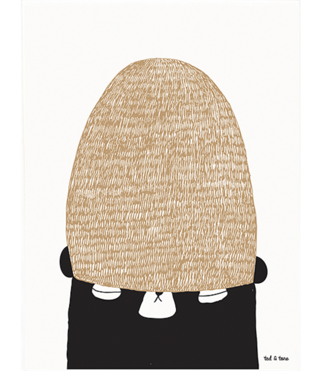 'Join my winterhat' poster