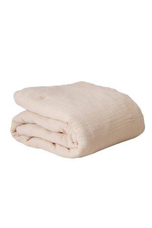 garbo&friends Eggshell muslin filled quilt