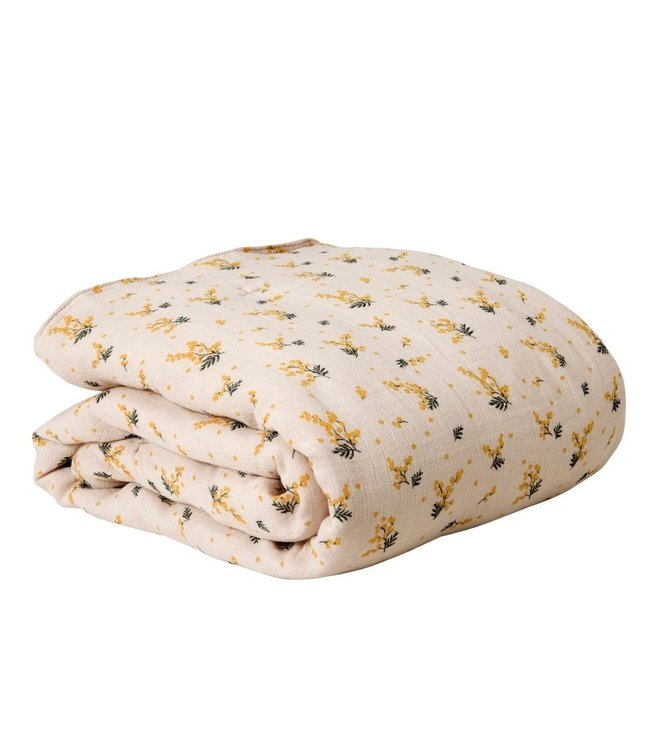 garbo&friends Mimosa muslin filled quilt