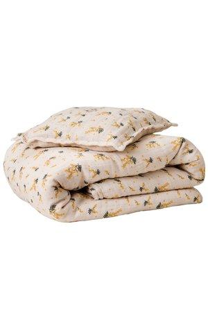garbo&friends Mimosa muslin bed set junior