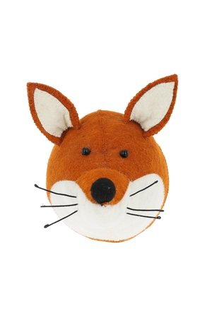 Fiona Walker England Animal head mini - fox