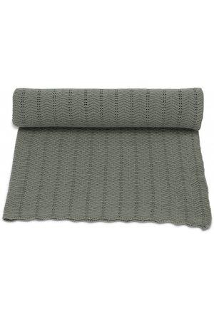 Konges Sløjd Blanket pointelle  - ivy green