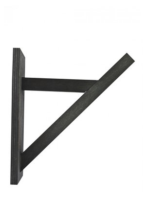 NUD collection Wooden bracket - black