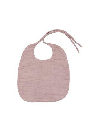 Numero 74 Baby bib round - dusty pink