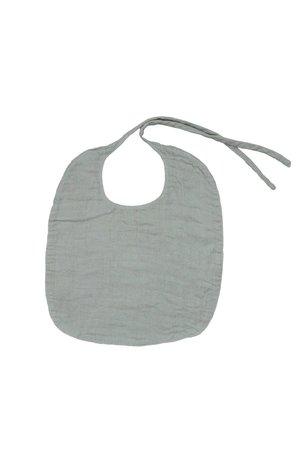 Numero 74 Baby slabbetje rond - silver grey