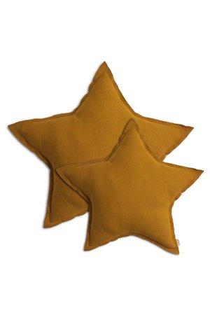 Numero 74 Star cushion - gold