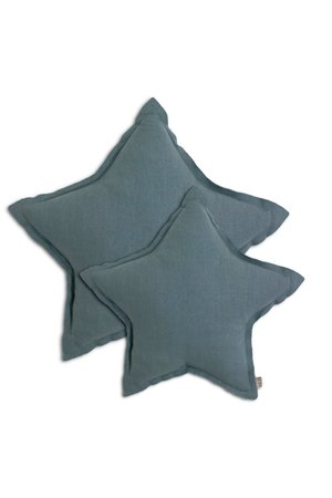Numero 74 Star cushion - ice blue