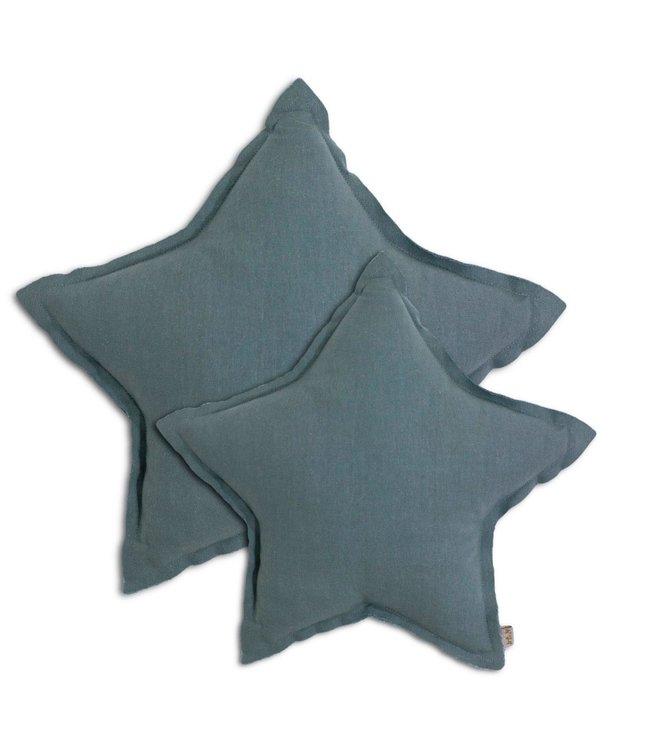 Numero 74 Star cushion - ice blue
