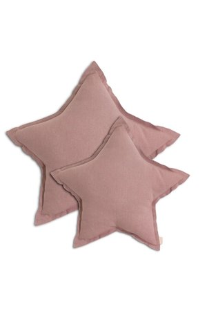 Numero 74 Star cushion  - dusty pink